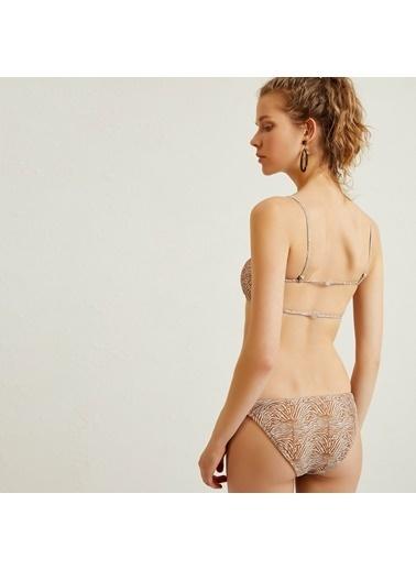Yargıcı Kadın Yan Detayli Bikini Alt 9YKBW1423X Kahve